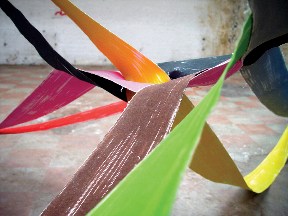 Painting As Sculpture As Photography #11