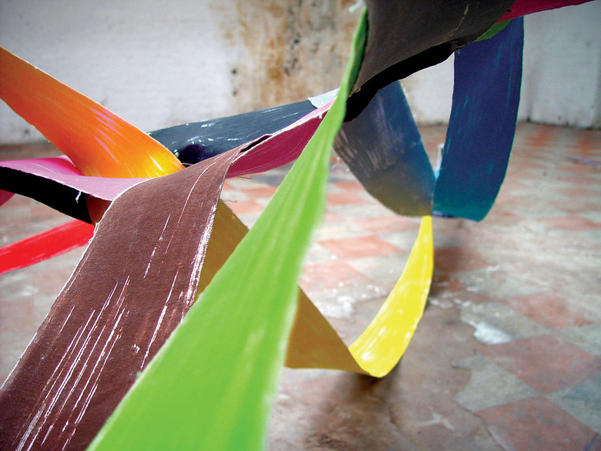 Painting As Sculpture As Photography #26