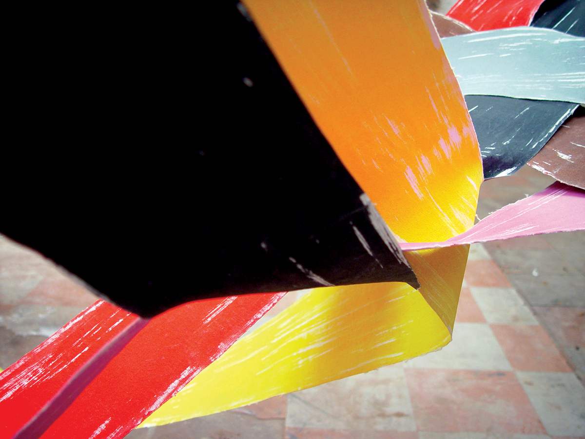 Painting As Sculpture As Photography #33