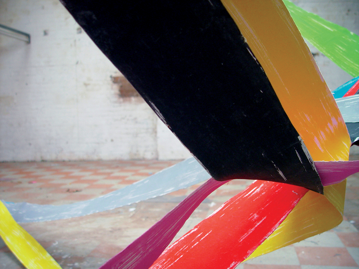 Painting As Sculpture As Photography #4